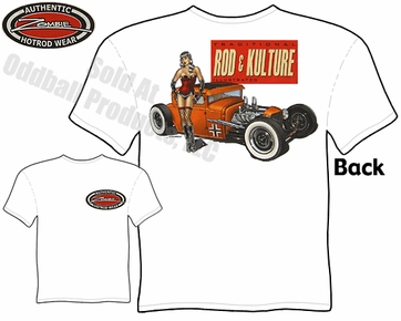 Hot Rods - Rod & Kulture 1930 1931 Coupe Pinup T-shirt
