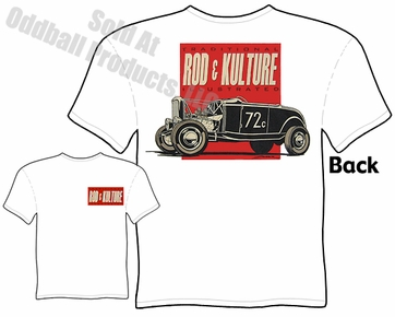 Hot Rods - Rod & Kulture Bonneville 32 Roadster T-shirt