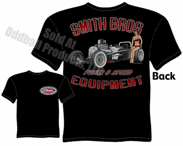 Hot Rods - Smith Bros. 1927 Drag Roadster Black T-shirt