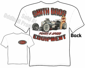 Hot Rods - Smith Bros. 1927 Drag Roadster T-shirt