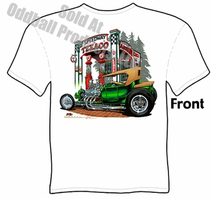 Hot Rods - Texaco T Bucket T-shirt