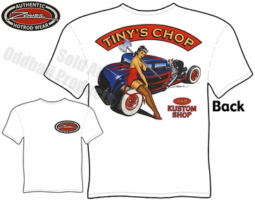 Hot Rods - Tiny's Chop & Kustom 1932 Coupe T-shirt