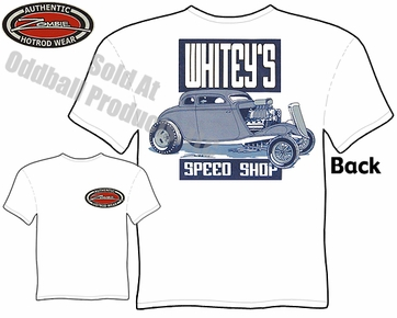 Hot Rods - Whitey's Speed Shop 1933 1934 Coupe T-shirt