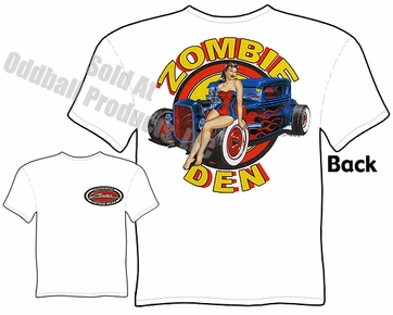 Hot Rods - Zombie Den 1930 1931 Coupe T-shirt