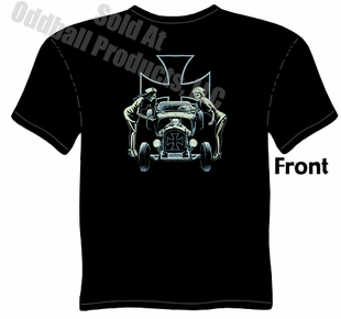 Kustom Kulture - Ford Roadster, Psychobilly Hot Rod T-shirt