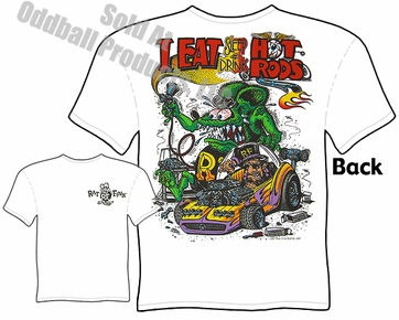 Rat Fink Shirts Ed Roth T Shirts Eat Sleep Drink Hot Rods Rat Fink T Shirt