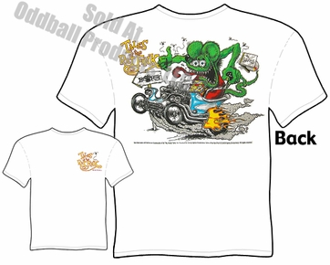 Ratfink T Shirts Ed Roth Outlaw Tales Of The Fink Rat Fink T Shirt