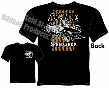 Speed Shop - ACME Speed Shop Tiki Belly Tank T-shirt