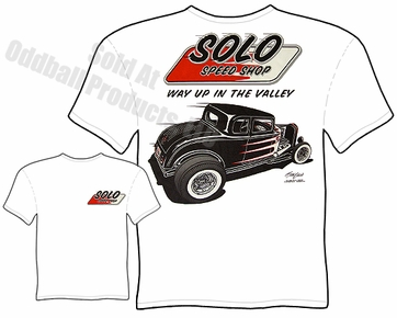 Speed Shop T Shirts Solo Speed Shop 1932 Ford Hot Rod T Shirt