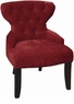 Avenue Six Curves Hourglass Button Tufted Chair [CVS26]