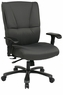 Office Star Deluxe Grey Big and Tall Heavy Duty Chair [7602R]