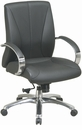 Office Star Mid Back Leather Executive Chair [8001]