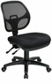 Office Star Multi-Task Armless Mesh Chair [2902]