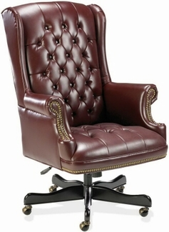 Traditional Wing Back Executive Office Chair [60603]
