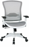 Office Star White All Mesh Office Chair [317W-W11C1F2W]