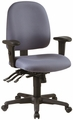 Work Smart Adjustable Ergonomic Fabric Office Chair [43808]
