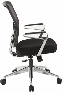 Air Grid® Back and Padded Mesh Seat Office Chair [213-37P91A7]