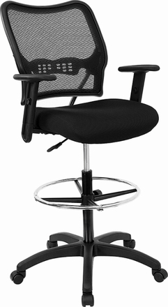 Air Grid Back Mesh Drafting Chair [13-37N20D]
