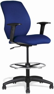 Allseating Chiroform Mid Back Ergonomic Drafting Chair [96019]