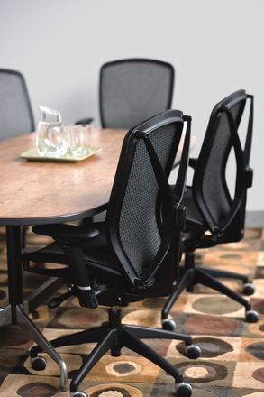The allseating fluid mesh office chair 81040 free shipping