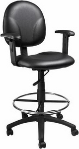Boss Contoured Drafting Chair [B1690]