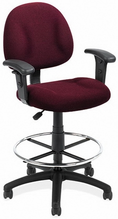 Boss Contoured Drafting Office Chair [B1615]