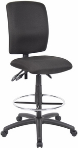 Boss Ergonomic Drafting Stool [B1635]