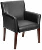 Box Arm Reception Room Chair [B619]