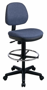 Work Smart Contemporary Drafting Chair with Flex Back DC800