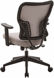 Deluxe Latte Fabric 2 to 1 Height Adjustable Chair [213-J11N1W]