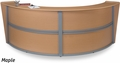 OFM Marque Double Curved Reception Station [55292]