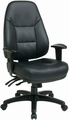 Work Smart Ergonomic Eco-Leather Multi-Function Computer Chair [EC4350]