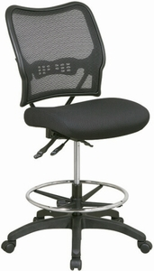 Space Seating Ergonomic Drafting Chair Mesh Back [13-37N30D]