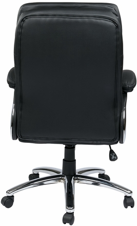 Work Smart Executive High Back Faux Leather Desk Chair [FL2604C]