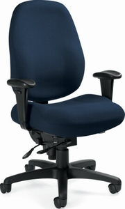 Global Dexter™ Ergonomic Heavy Duty Computer Chair [2436-1]