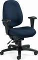 Global Dexter™ Mid Back 24 Hour Use Chair [2437-1]