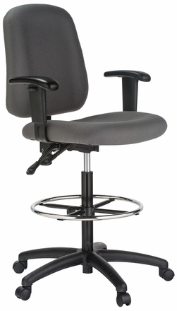 Harwick Contoured Counter Height Bank Teller Chair [100KE]