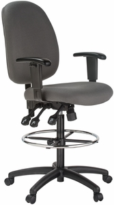 Harwick Ergonomic Adjustable Drafting Chair [6058C-D]
