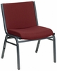 Hercules 1000 LB Capacity Burgundy Stack Chair [XU-60555-BY-GG]