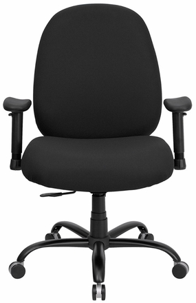 Big And Tall Office Chair WL 715MG BK GG Office Chairs Unlimited