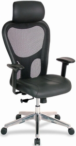 Lorell Mid Back Office Mesh Chair [85036]