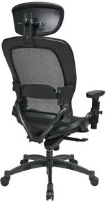 Space Seating Matrex Back & Seat Chair with Headrest [27876]