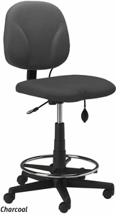 Mayline Inflatable Lumbar Swivel Task Stool 4005AG