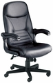 "Mayline ""Pivot Arm"" Leather Heavy Duty Chair [6446AGL]"