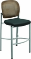 Mayline Valore Black / Orange Stool TSS2BO