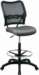 Mesh Back Drafting Chair [13-7N20D]