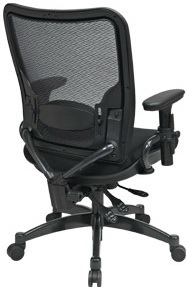 Space Seating Professional Dual Function Ergonomic Air Grid Chair [6806]