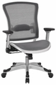 Office Star Deluxe Mesh Task Chair with Flip Up Arms [317-66C61F6]