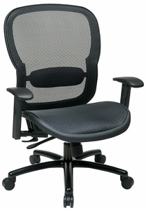 Space Seating Big and Tall Mesh Back Office Chair [839-11B35WA]