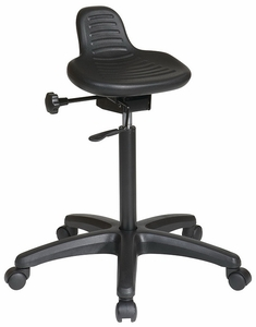 Office Star Backless Saddle Seat Stool [KH206]